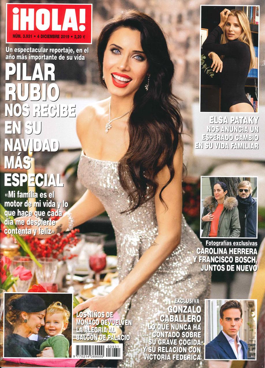 Hola Elsa Pataky – portada ENG