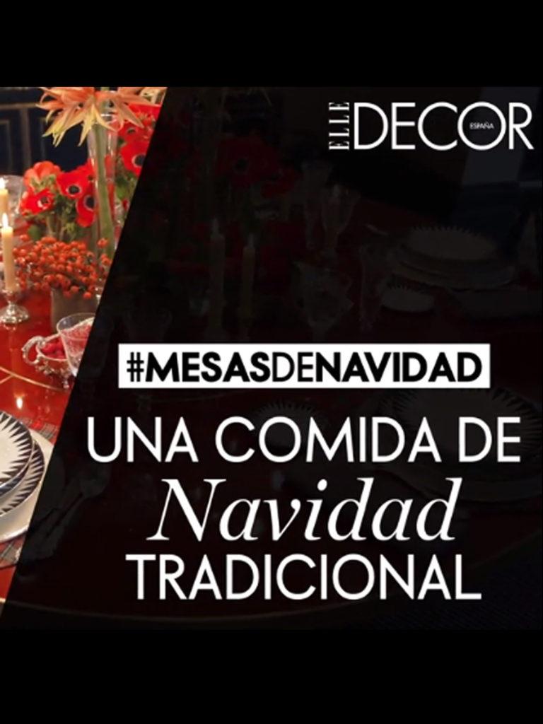Elle Decor Navidad- Portada ENG